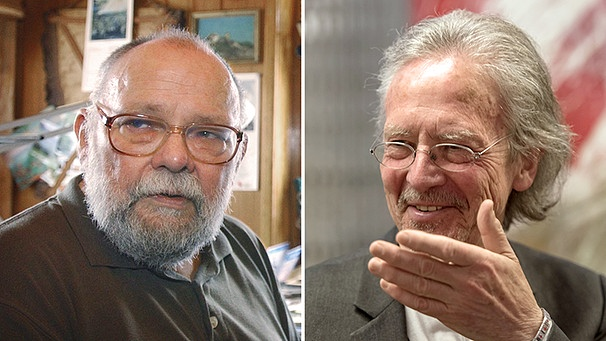 Kito Lorenc und Peter Handke | Bild: Picture Alliance