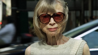 Autorin und Journalistin Joan Didion, fotografiert 2017 | Bild: picture-alliance/dpa / Everett Collection
