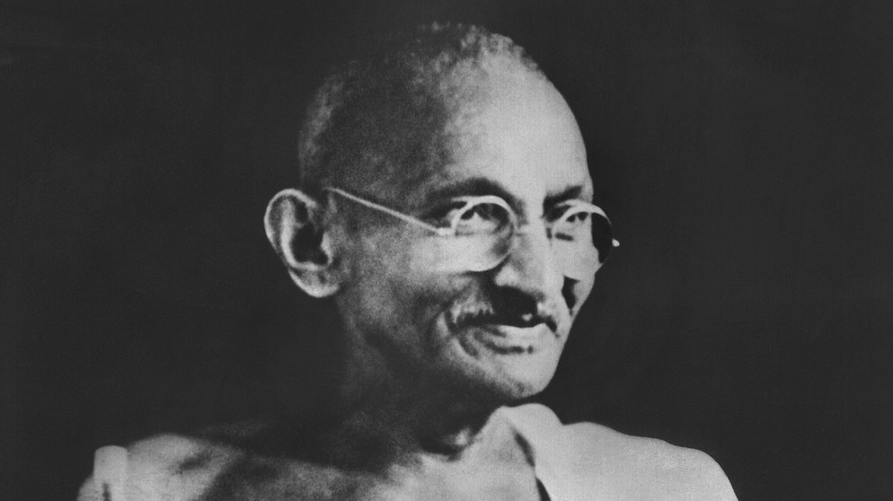 Mahatma Gandhi | Bild: picture-alliance/dpa