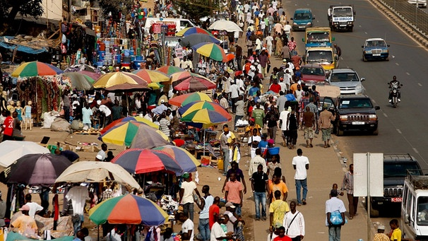 Markt in Guinea-Bissau | Bild: picture-alliance/dpa
