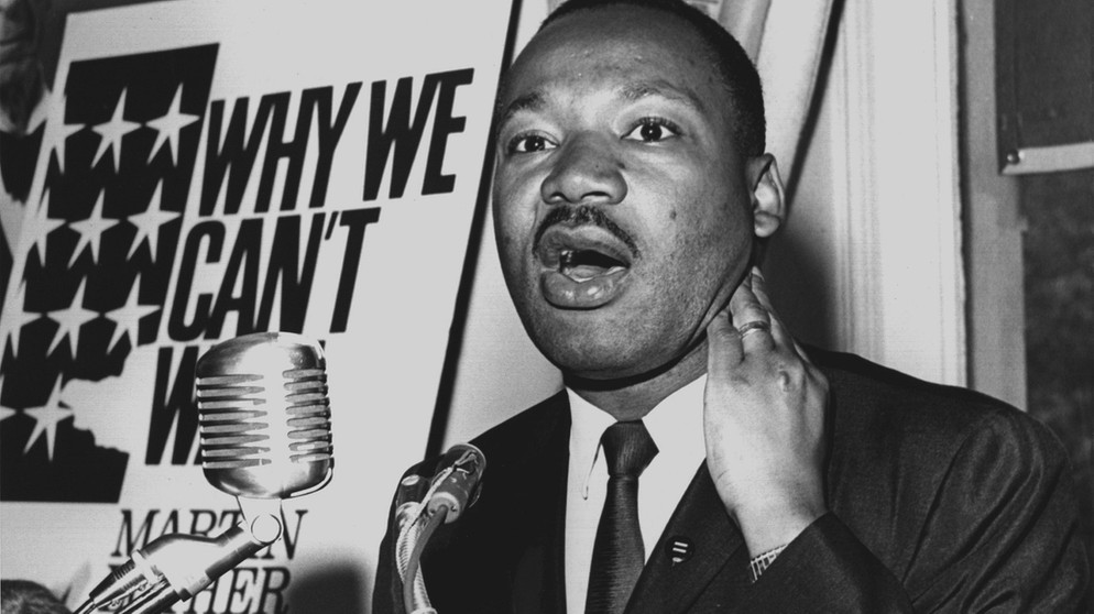 Martin Luther King | Bild: picture-alliance/dpa