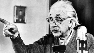 Albert Einstein | Bild: picture-alliance/dpa