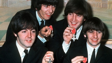 Darstellung: Beatles | Bild: picture-alliance/dpa