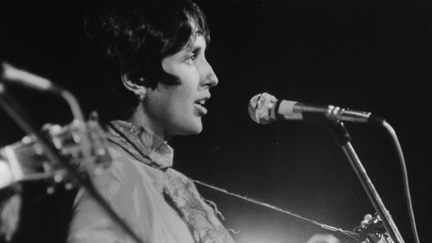 Joan Baez beim Woodstock Festival | Bild: picture-alliance/dpa