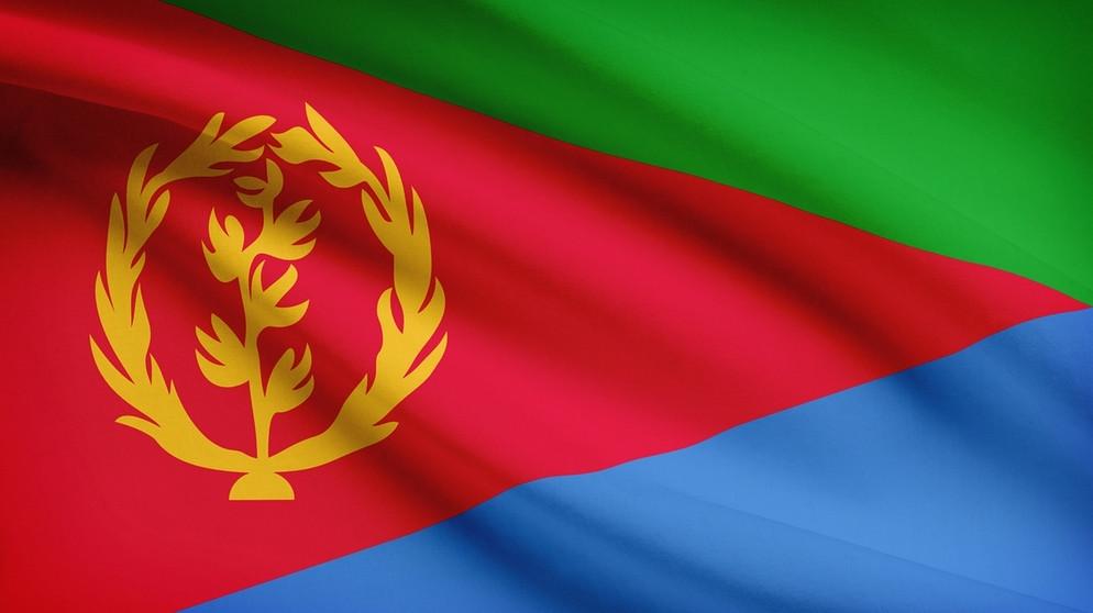 Eritrea flagge 100~ v img  16  9  xl