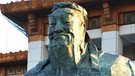 Konfuziusstatue vor dem Nationalmuseum in Peking, China | Bild: picture-alliance/dpa