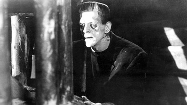 "Boris Karloff als Monster ""Frankenstein"" 