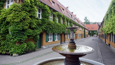 Fuggerei in Augsburg | Bild: picture-alliance/dpa