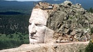 Steinernes Monument von Crazy Horse (South Dakota) | Bild: picture-alliance/dpa
