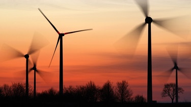 Windkraft-Anlage | Bild: picture-alliance/dpa