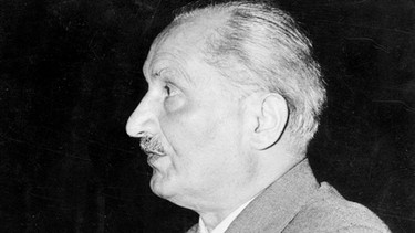 Martin Heidegger | Bild: dpa/SZ Photo