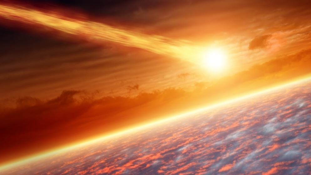Meteor Mit Mission Kam Das Leben Aus Dem All Planet