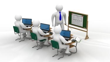 Unterricht in einer Schulklasse   Bild: colourbox.com