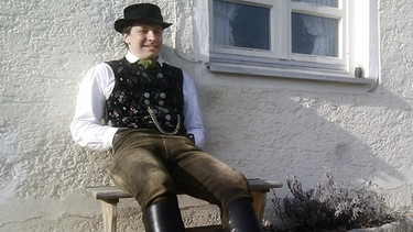 Hans Bachmaier in Tracht | Bild: BR/Kempe, Thomas