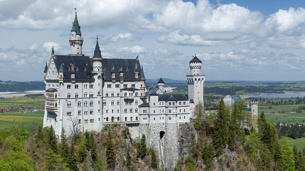 150 Jahre Marchenschloss Mystik Und Magie Um Schloss Neuschwanstein Zeit Fur Bayern Bayern 2 Radio Br De