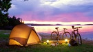 Wildes Camping | Bild: picture-alliance/dpa
