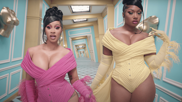 "Cardi B und Megan Thee Stallion im Video zu ""WAP"" 