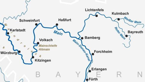 main fluss karte Der Main: Eine faszinierende Wasserstraße | Events & Konzerte