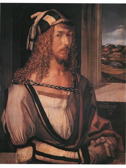 selbstbildnis von 1498 madrid bild picture alliancedpa - Albrecht Drer Lebenslauf