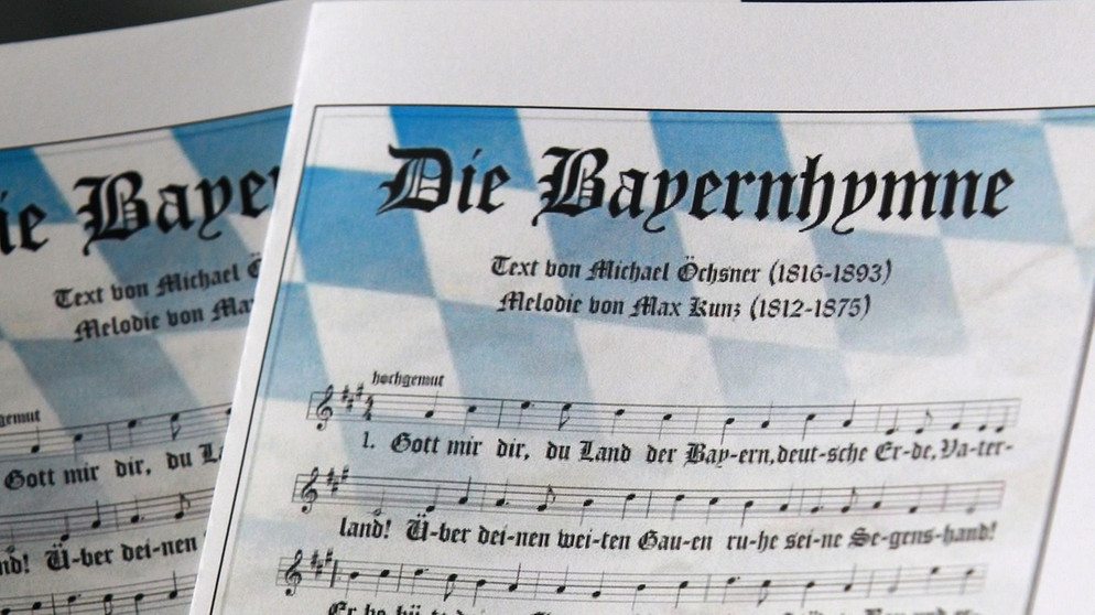 160 Jahre Bayernhymne Gott Mit Dir Du Land Der Bayern Blasmusik Br Heimat Radio Br De
