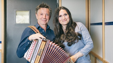 Stofferl Well und Susanne Bernhard | Bild: BR/Lisa Hinder