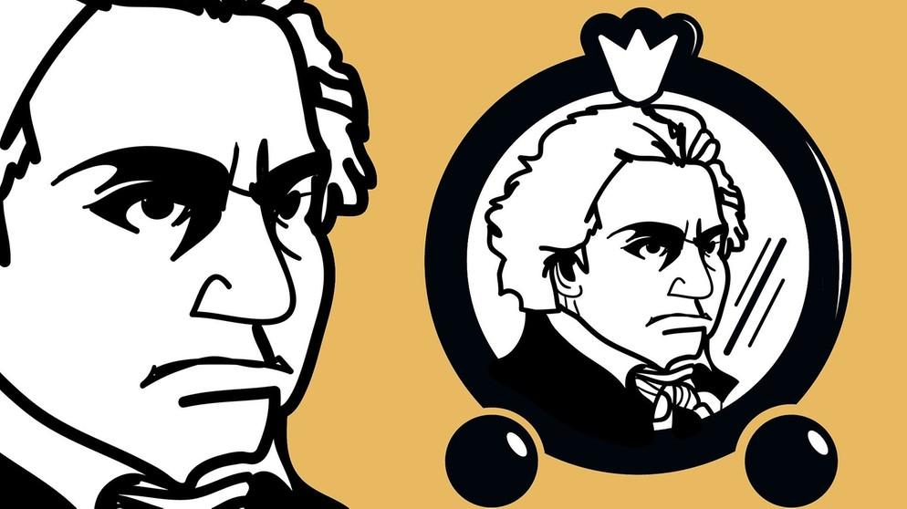 Zum 250 Geburtstag Von Beethoven Begegnungen Mit Ludwig Van Beethoven Blasmusik Br Heimat Radio Br De