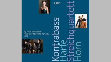 CD-Cover: 65. Internationaler Musikwettbewerb der ARD | Picture: ARD