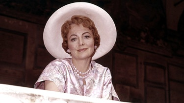 "Olivia de Havilland als Meg Johnson im Film ""The light in the piazza"" (1962) 