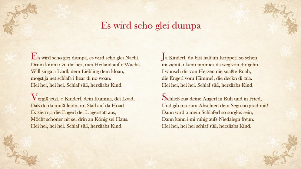 Lieder-Archiv Weihnachtslieder