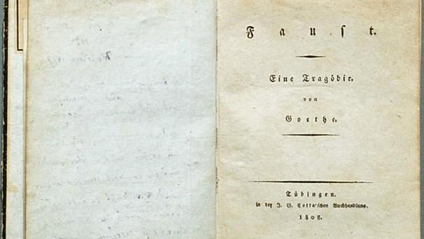 Johann Wolfgang Von Goethe Goethes Drama Faust Deutsch