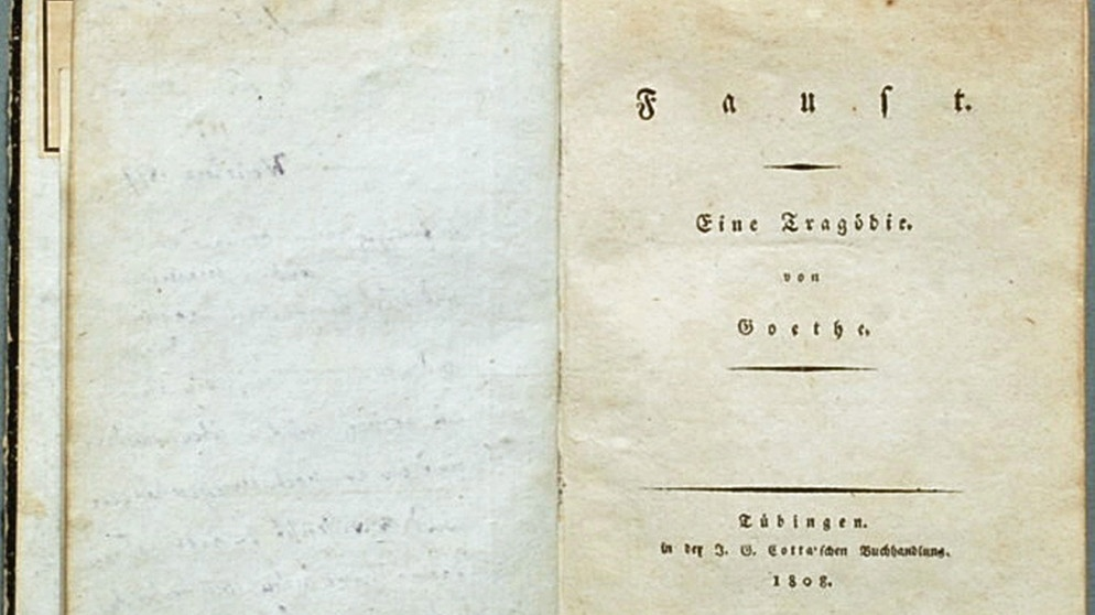 Goethes Faust Analyse So Erschließt Man Sich Den Faust