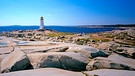 Leuchtturm in Peggy's Cove in Nova Scotia | Bild: picture-alliance/dpa/Friedel Gierth