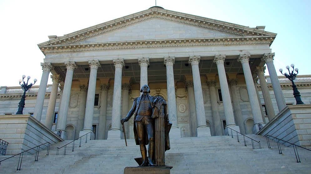Das State Capitol in Columbia, der Hauptstadt von South Carolina | Bild: picture-alliance/dpa