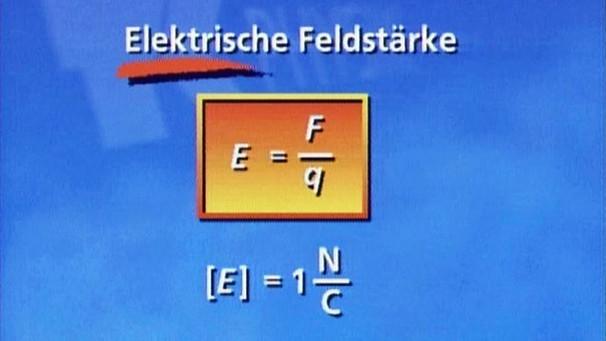 physik  folge elektrisches feld elektrizitaet
