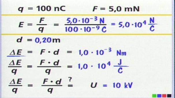 Physik - 16. Folge: Elektrische Spannung   Elektrizität   Physik ...