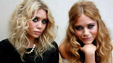 Die Zwillinge Ashley und Mary-Kate Olsen | Bild: picture-alliance/dpa