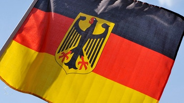 Deutsche Flagge | Bild: picture-alliance/dpa