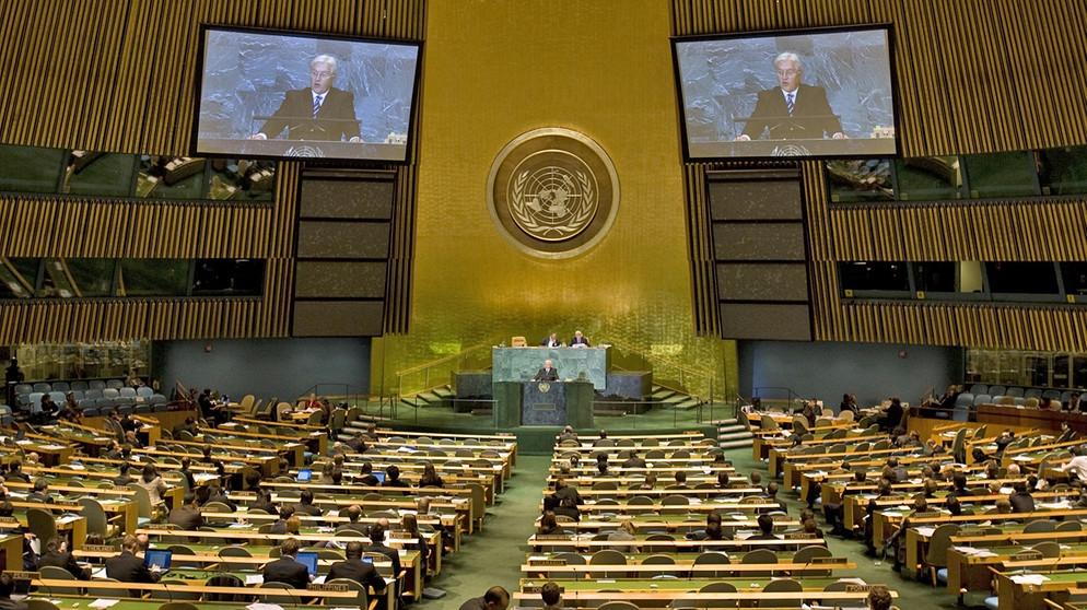 UNO-Arbeit konkret : Die UNO-Organe | Sozialkunde | Telekolleg | BR.de