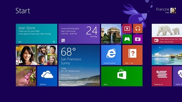 Screenshot Windows 8 | Bild: picture-alliance/dpa