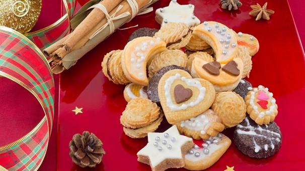 Platzchen rezepte weihnachten marzipan