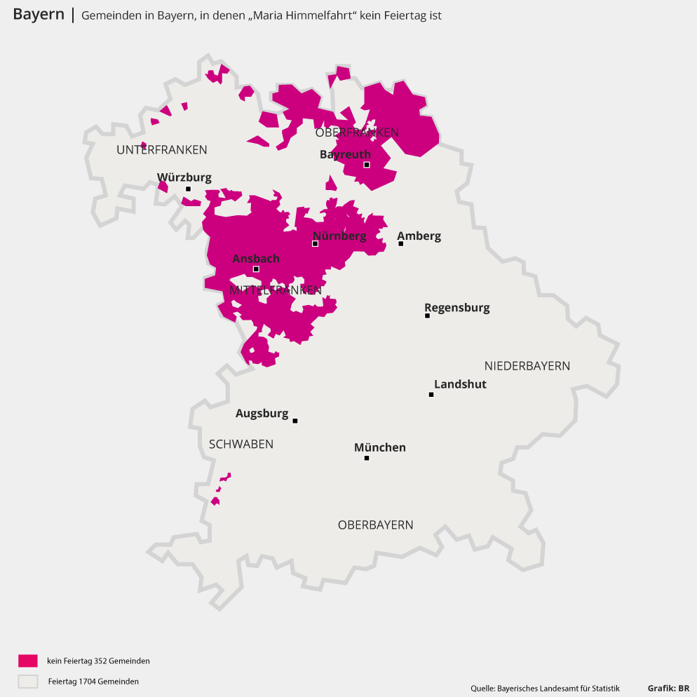 Maria Himmelfahrt Bayern