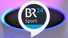 Amazon Echo + BR24 Sport-Logo | Bild: picture-alliance/dpa