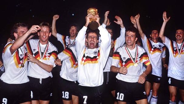 25 Jahre Wm Titel 1990 Der Weg Zum Dritten Stern Fussball