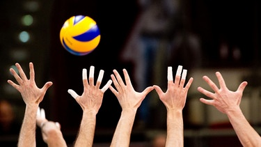 Volleyball | Bild: picture-alliance-dpa-Sebastian Kahnert