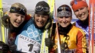Biathlon-Goldstaffel bei Olympia 2002 | Bild: picture-alliance/dpa
