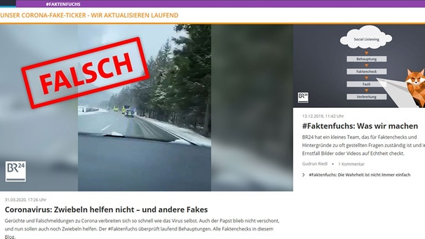 BR Faktenfuchs Screenshot | Bild: Screenshot