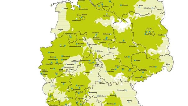 Dvb T2 Empfang Karte 2019.Deutschland Dvb T2 Hd In Deutschland Stand Mai 2019 Technik