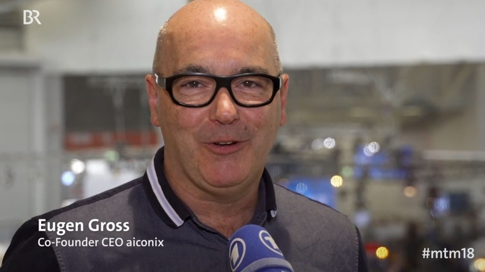 Eugen Gross, CEO Aiconix | Bild: Screenshot BR
