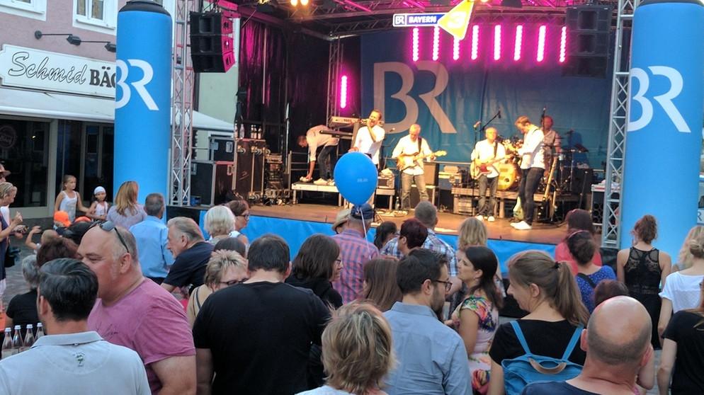 Stadtfeste in Mühldorf und Regensburg: BR-Bühne | Aktionen