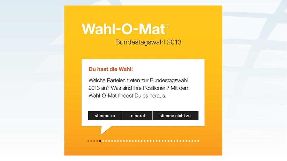 Wahl O Mat Entscheidungshilfe Nicht Nur Fur Jungwahler Br24 Br De
